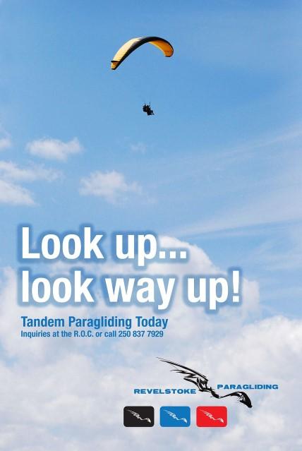 Revelstoke Paragliding - Tandem Flights